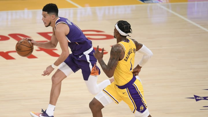 Devin Booker against the Lakers.