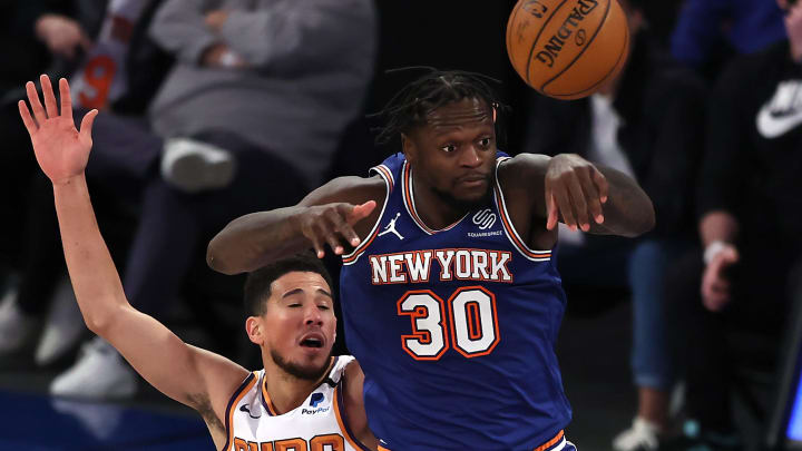 Julius Randle and Devin Booker face off again on Friday.