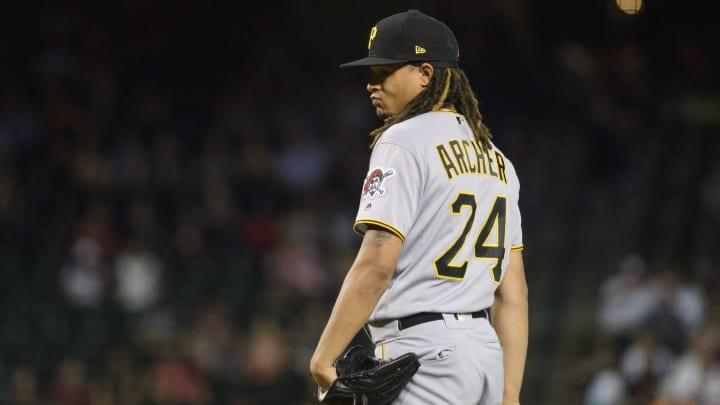 Pittsburgh Pirates pitcher Chris Archer