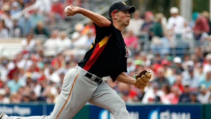 Former Pittsburgh Pirates right-hander Bryan Bullington
