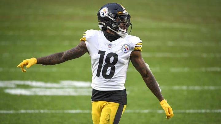 Diontae Johnson' fantasy outlook points to WR1 production in the Wild Card round.