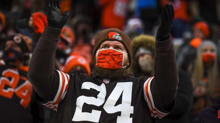 A Cleveland Browns fan.