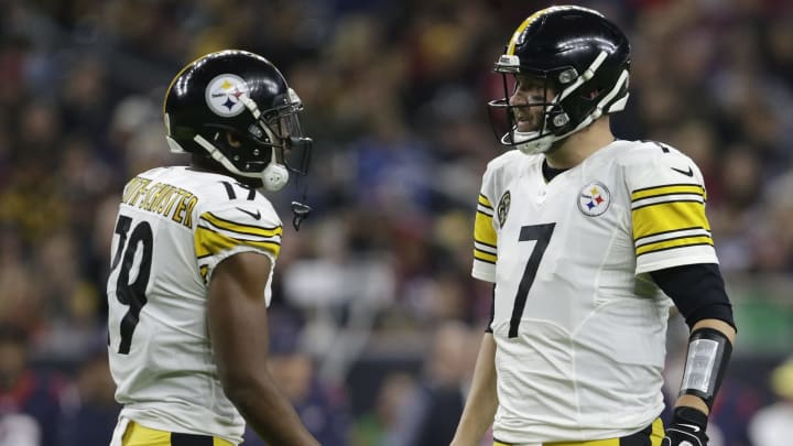 Pittsburgh Steelers QB Ben Roethlisberger and WR JuJu Smith-Schuster
