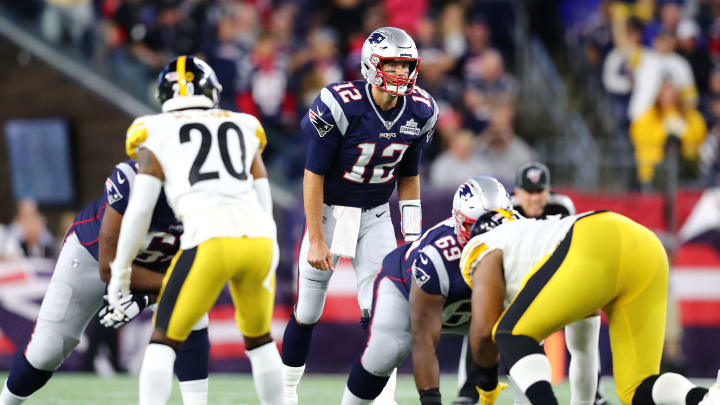 Tom Brady has had some of his best moments against the Steelers.