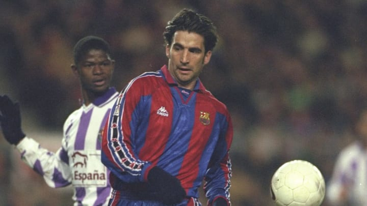 Pizzi of Barcelona in action