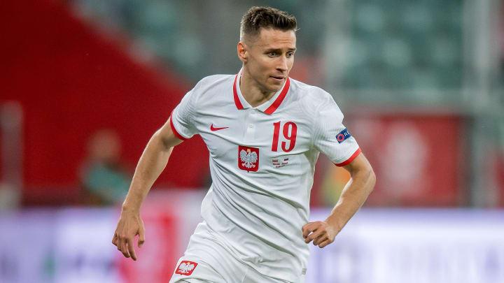 Przemysław Frankowski à l'Euro 2020.