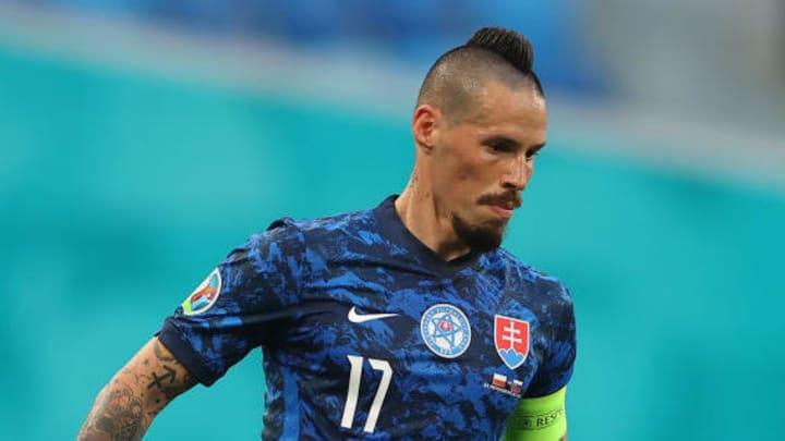 Marek Hamsik started in midfield
