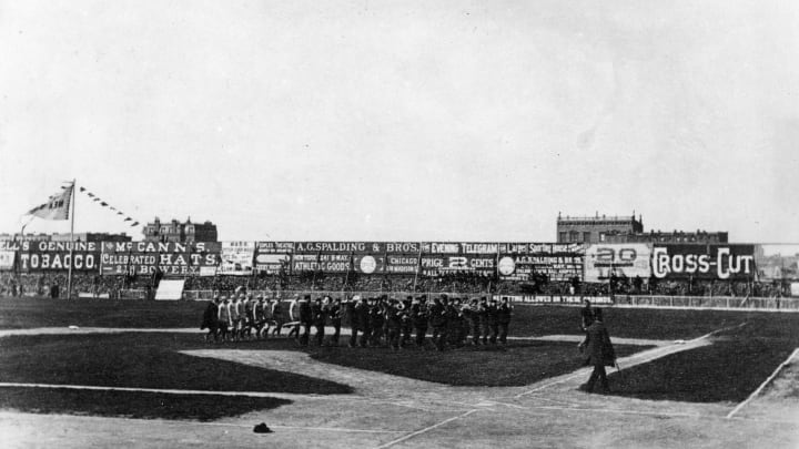 Polo Grounds Opening Day 1886