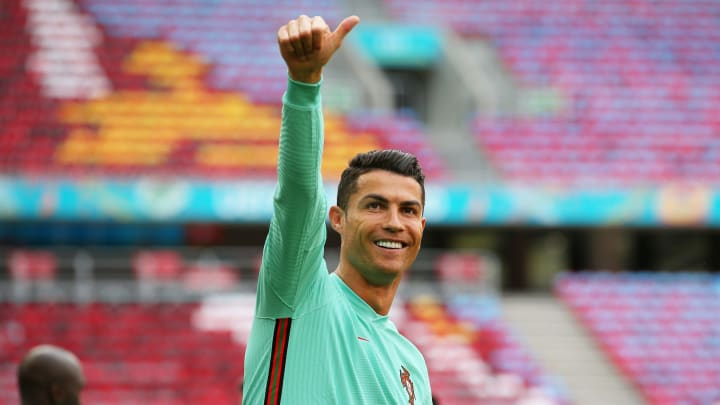 Cristiano Ronaldo is set to become the first man to play five European Championship tournaments
