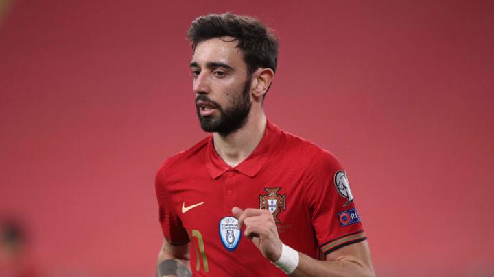 bruno fernandes portugal eurocopa
