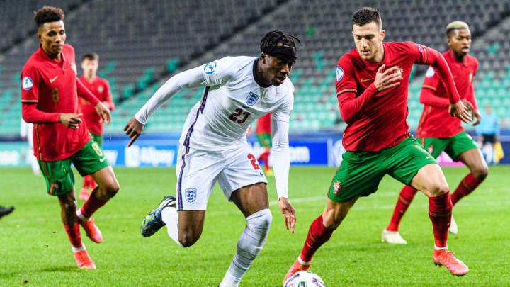 Noni Madueke weilt aktuell bei der englischen U21