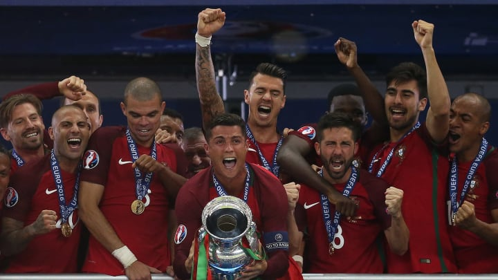 Portugal are the reigning European champions