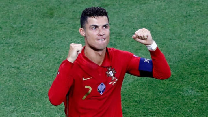 Cristiano Ronaldo bagged a brace against France