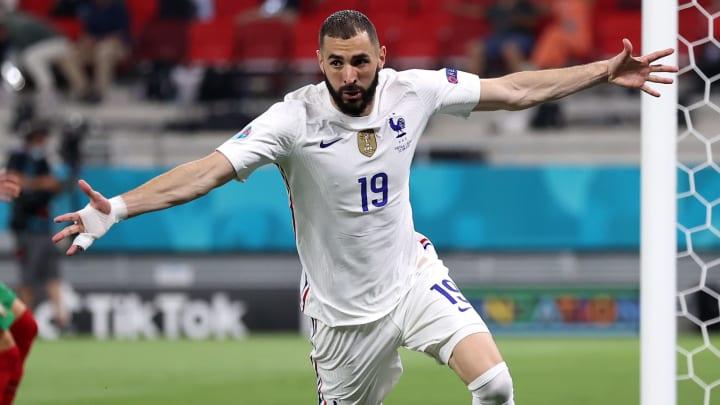 Karim Benzema made a unique bit of history against Portugal