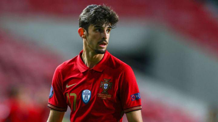 Portugal Francisco Trincão Sub-21 Eurocopa