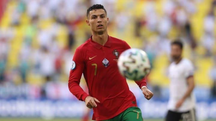 Cristiano Ronaldo Portugal França Eurocopa
