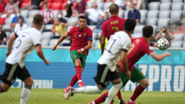 Cristiano Ronaldo deixou o dele, mas não saiu com a vitória