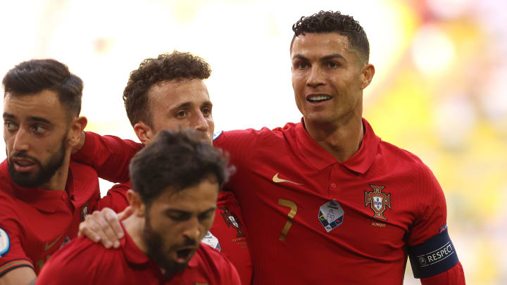 Cristiano Ronaldo holds a number of EURO records