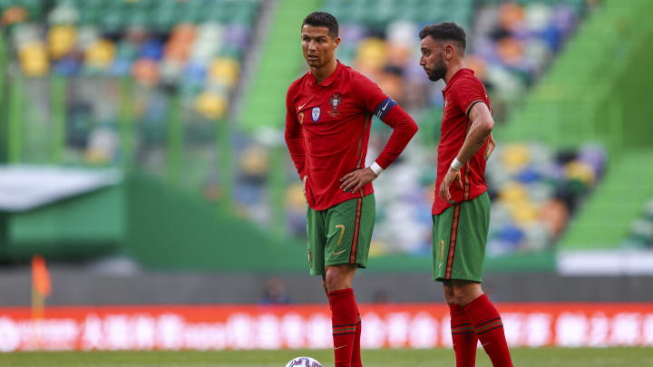 Cristiano Ronaldo and Bruno Fernandes are among the two best players participating in the Euro 2020 Championship