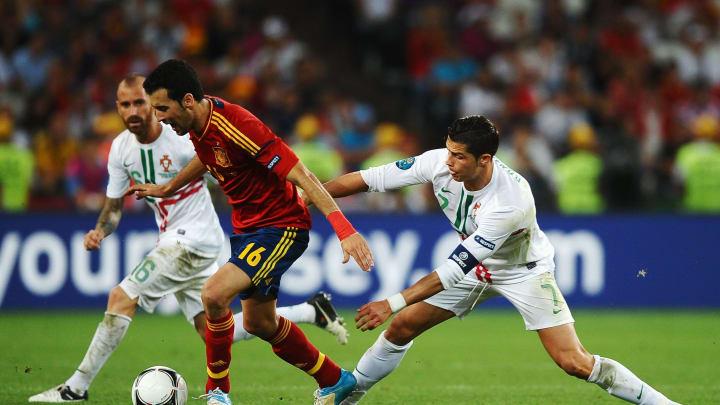 Sergio Busquets, Cristiano Ronaldo