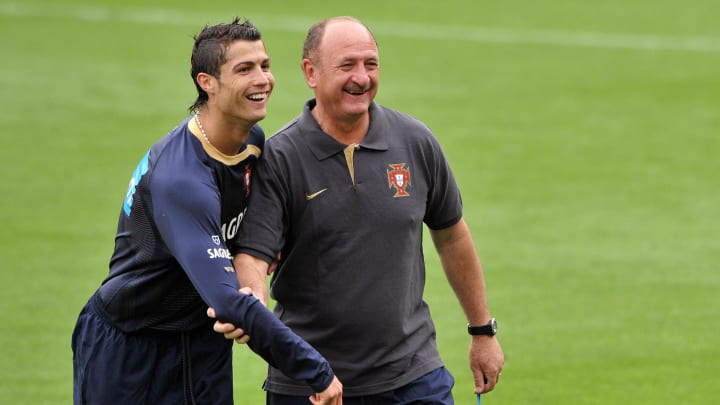 Portugal's football team coach Luiz Feli