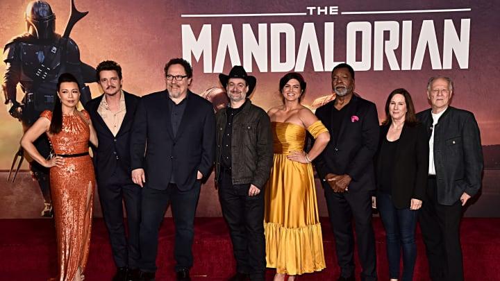 Ming-Na Wen, Pedro Pascal, Jon Favreau, Dave Filoni, Gina Carano, Carl Weathers, Kathleen Kennedy, Werner Herzog