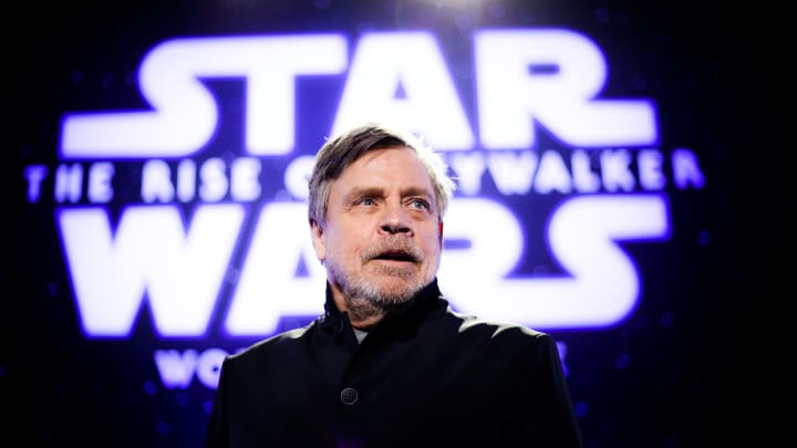 """Mark Hamill reflects on how passionate, and even """"contentious"""" the 'Star Wars' fandom is."""