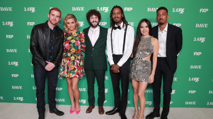 The cast of 'Dave.'