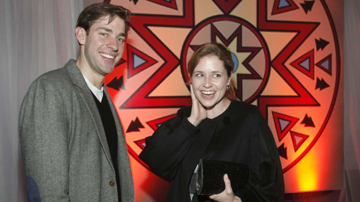 New behind-the-scenes book reveals Jim and Pam were supposed to break up in 'The Office.'