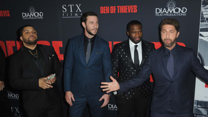 The star-studded cast of Den of Thieves