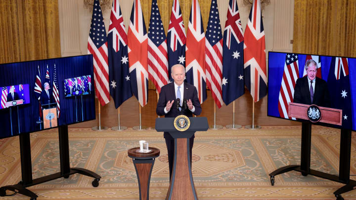 President Biden Delivers Remarks On National Security Initiative