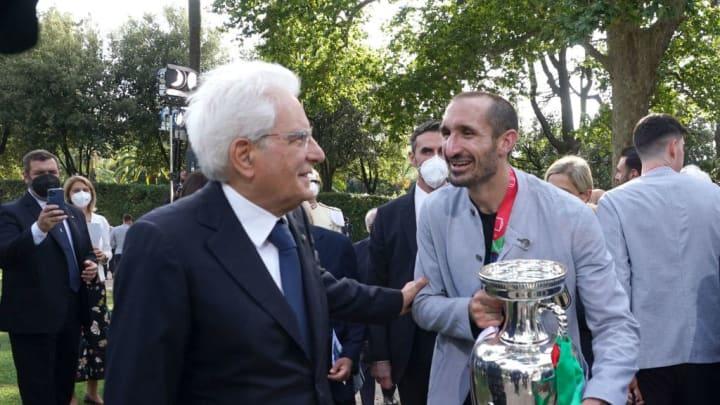 Sergio Mattarella, Giorgio Chiellini