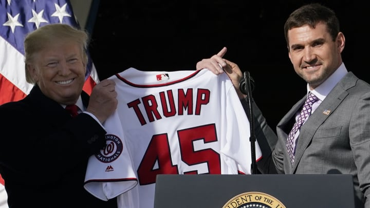 Donald Trump, Ryan Zimmerman