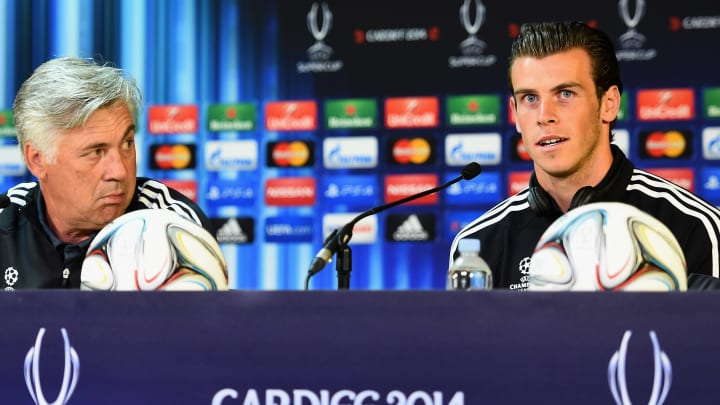 Carlo Ancelotti, Gareth Bale