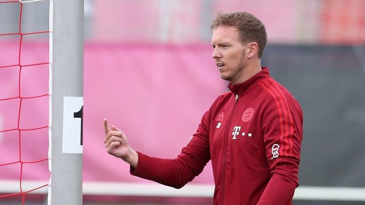 Julian Nagelsmann feiert gegen Köln sein Bayern-Debüt
