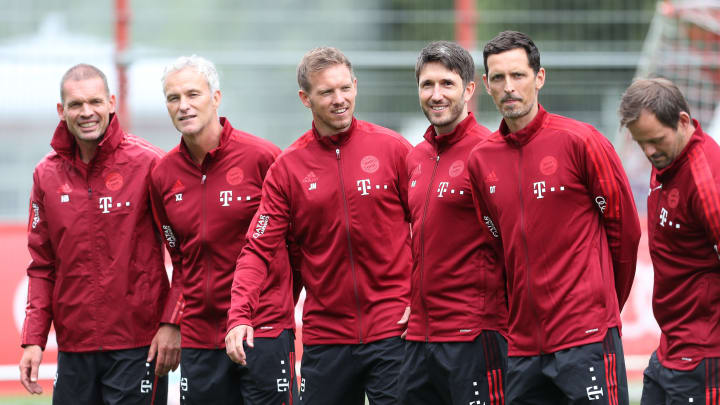 Das neue Trainerteam hat die erste Woche bei den Bayern schon fast hinter sich