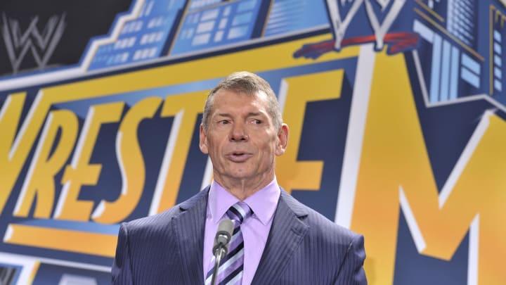 WWE Chaiman and XFL President Vince MacMahon