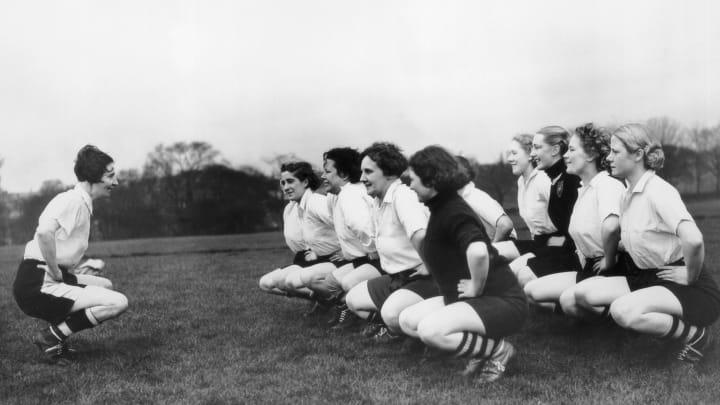 Preston Ladies Training