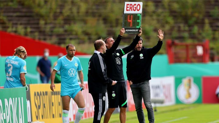 Der VfL Wolfsburg hat sich verwechselt