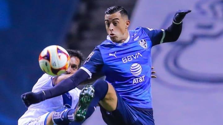 Rogelio Funes Mori fue titular ante La Franja pero no pudo convertir.