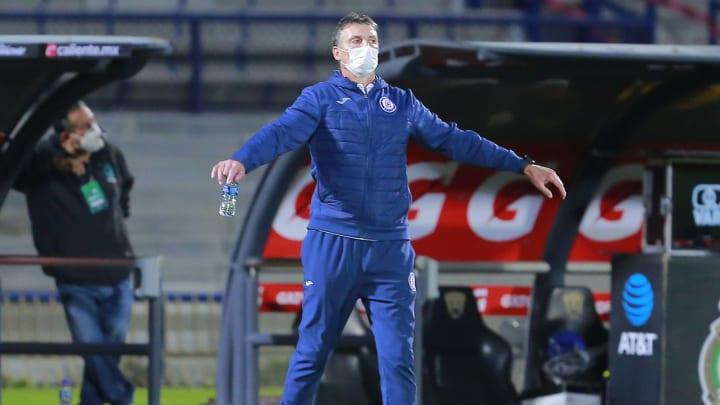 Robert Dante Siboldi en el Pumas UNAM v Cruz Azul - Playoffs Torneo Guard1anes 2020 Liga MX