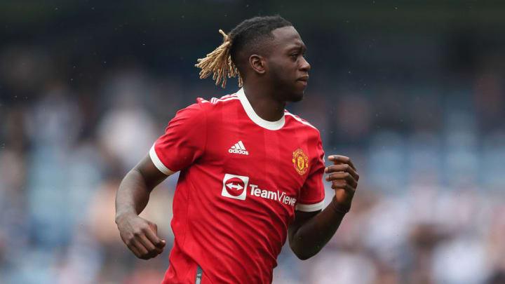 Aaron Wan Bissaka Manchester United Premier League