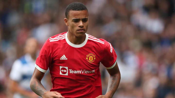 Mason Greenwood Manchester United Inglaterra