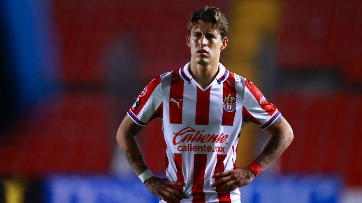 Hasta ahora, Cristián Calderón ha sido el goleador de Chivas en la pretemporada con tres anotaciones.