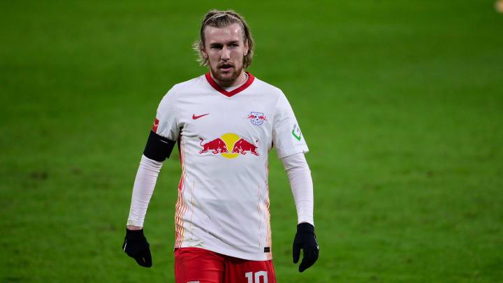 Auch Emil Forsberg wird in Leipzig bleiben