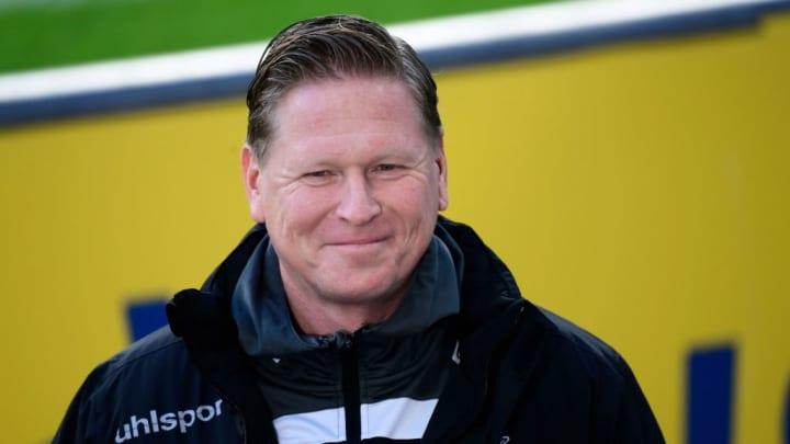 Effzeh-Coach Markus Gisdol freut sich immer über Heimspiele