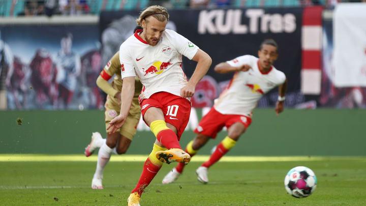Emil Forsberg könnte unter Jesse Marsch wieder aufblühen.