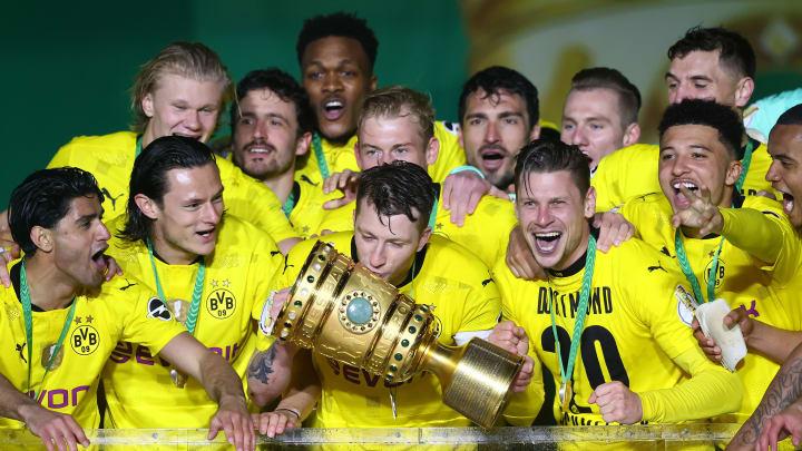 Borussia Dortmund gewann am Donnerstagabend zum fünften Mal den DFB-Pokal