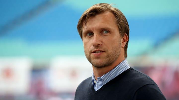 RB Leipzigs Sportdirektor Markus Krösche hat mit Blick auf die kommende Saison viel Arbeit vor sich