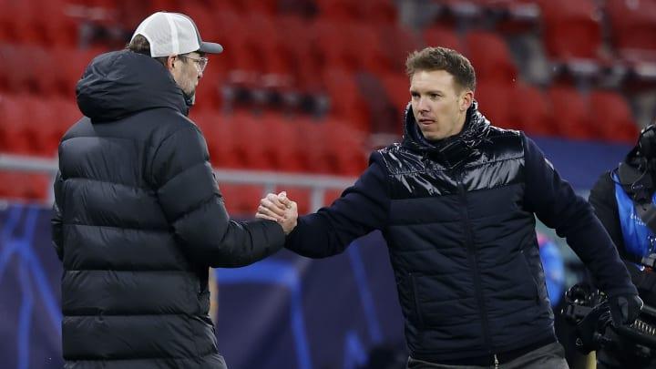 Julian Nagelsmann et Jürgen Klopp sont candidats à la succession d'Hansi Flick au Bayern Munich